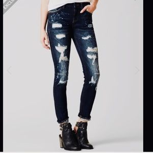 NWT Remix Rocks Mid-Rise Skinny Stretch Jeans